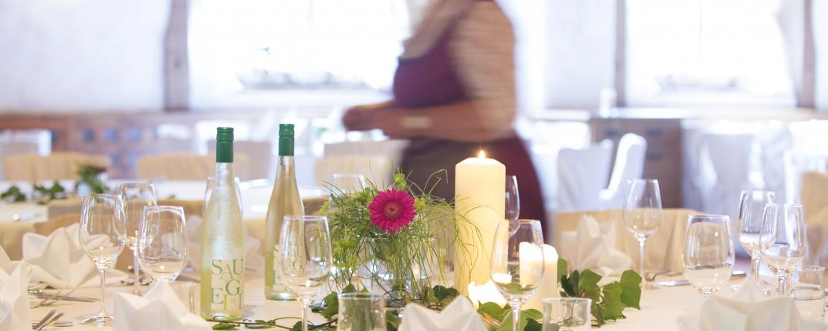 Zeidlmaier, Terrasse, Biergarten, Hallertau, Landgasthof, Rohrbach, Firmenfeier, Hochzeit, Familienfeier, Event